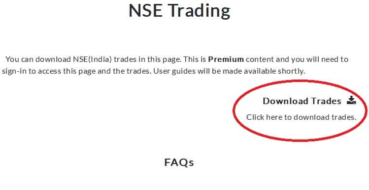 Download XLSX - The Portfolio Trader - NSE Traiding